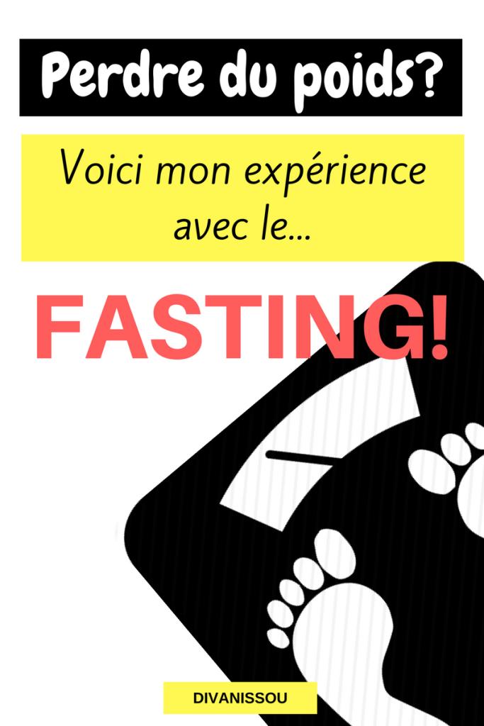 mon experience avis sur le fasting perte de poids jeune intermittent