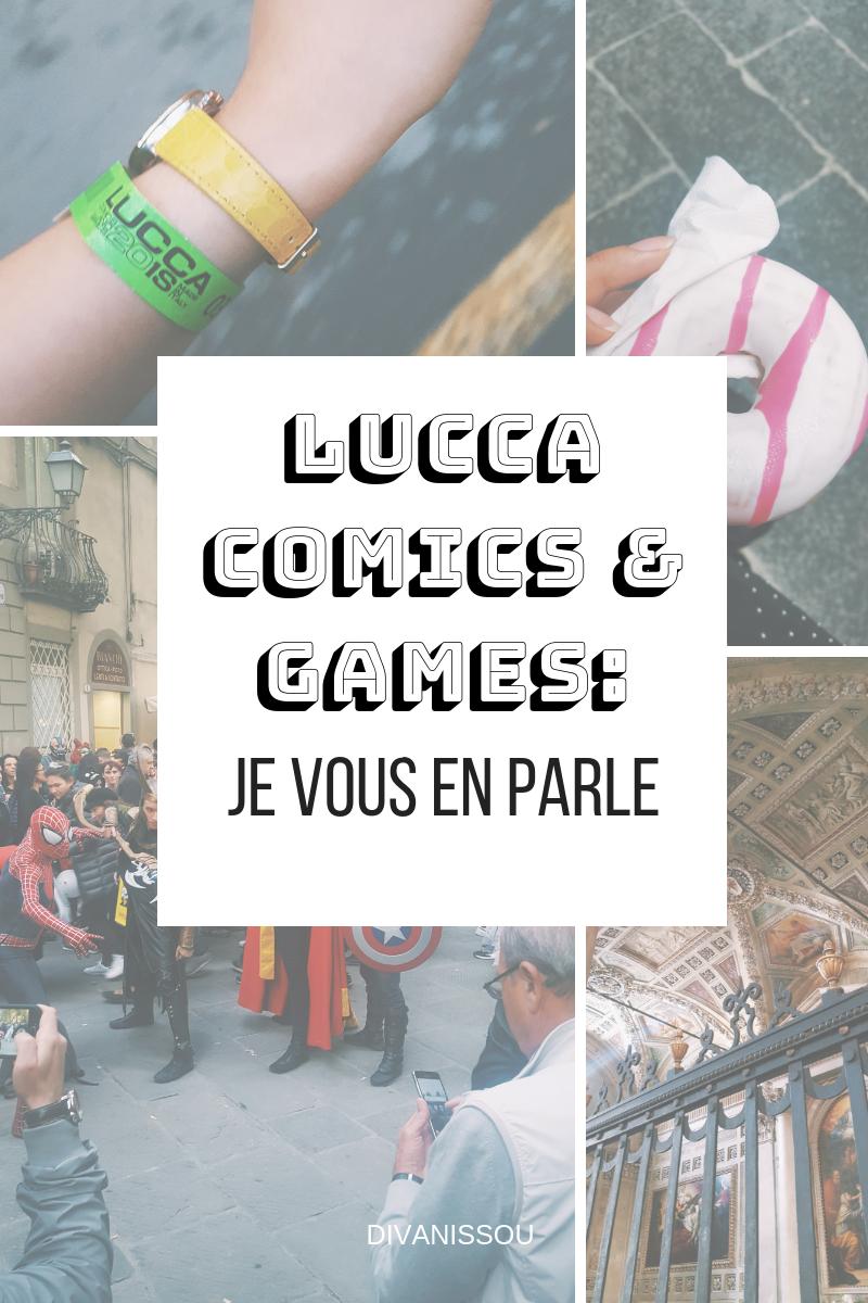 LUCCA comics & games_ Je vous en parle!
