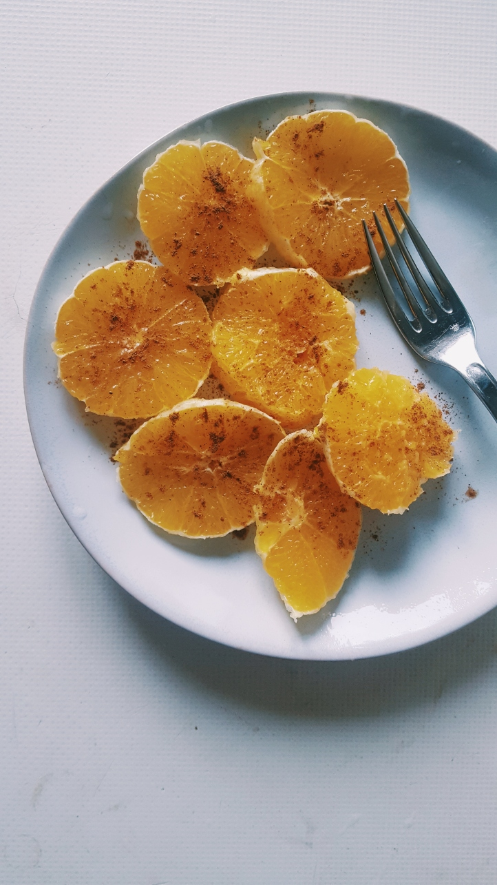 orange cannelle méditerranée vegan