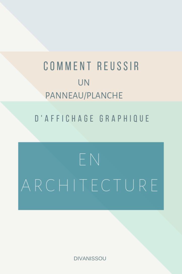 affichage panneau architecture design graphique astuce adobe étude